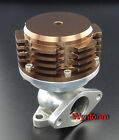 38MM Wastegate 11 PSI Turbo Stainless Steel Dump Valve Anodized Brown