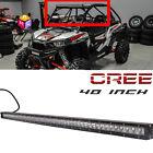 "40""CREE Led Light Bar Polaris RZR XP900 800 RZR4 Crew XP1000 Ranger 900 800 570X"