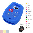 Silicone Skin Case Cover fit for KIA Spectra Keyless Remote Key Fob 4 Button DB