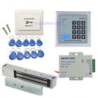 1200lbs Magnetic Lock RFID Security Control Systems Kits 110-240V Power supply