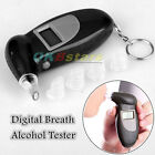 Auto Power Digital Breath Alcohol Tester with Audible Alert Set MIni Battery ^KK