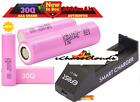 Samsung 30Q INR 3000mah Battery 18650 Flat-Top High-Drain W/ ProC1 Charger