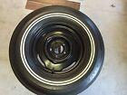 Mopar Spare Tire BF Goodrich G78-15 Silvertown Polyglas Double White Stripe