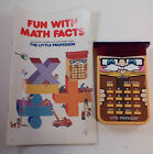 Vintage Texas Instruments Little Professor Electronic Learning Aid activity book