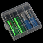 10x Plastic Case Holder Storage Box Cover for Rechargeable AA AAA Batteries RF
