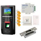 Ensemble de système d'empreinte digitale et RFID de porte avec verrouillage de g