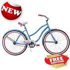 "26"" Huffy Womens Cranbrook Cruiser Bike Ocean Blue Outdoor Bicycle Girls Ride"