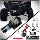 WIN-2X 4500lb 12V Electric Recovery Winch Kit w/Steel Cable For ATV UTV Boat Car