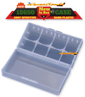 4 pcs CLEAR PLASTIC STORAGE CASE HOLDER BOX For 18650 16340 CR 123A BATTERY