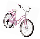 "Schwinn Women's Perla 26"" Wheel Cruiser Bicycle, Pink, 14""/Small"