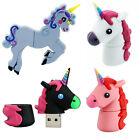 Cute Cartoon Unicorn Horse Shaped USB 2.0 Memory Stick Flash Pen Drive 8/16/32G