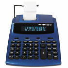 Victor 1225-3A Antimicrobial Two-Color Printing Calculator, Blue/Red Print, 3 L