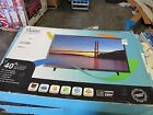 """Z: Avera 40"""" 720p LED TV (40AER10 ) CRACKED SCREEN FOR PARTS OR REPAIR *P11*"""