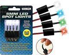 Street FX 5mm LED Spot Lights - LED Color Blue - 4 Pack