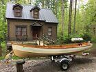 Penobscot 14 wooden sailboat