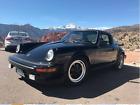 1982 Porsche 911 black 1982 911 SC Porsche Targa
