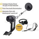 Waterproof Metal Detector Sensitive Search Gold Digger Hunter w/Headphone Set