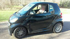 2013 Smart Passion Coupe  2013 Smart Car Fortwo Passion Coupe by Mercedes Benz Black Good Cond