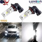 2x 9006 HB4 Philips LED White 100W DRL Running Fog Light Bulbs Lamps Replacement