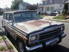 1984 Jeep Wagoneer 4-door Project car needs TLC
