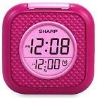 Vibrating Pillow Alarm Clock - Pink - Sharp SPC562i