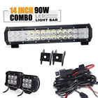 "14.5"" Led Light Bar Honda TRX Fourtrax Rancher Foreman Pioneer XR CRF 125 80 250"