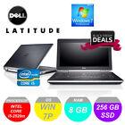 """DELL Latitude E6320 E6330 13"""" Laptop i5 3.30 GHz 8GB RAM 256GB SSD w DVD Drive"""