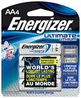Energizer Ultimate Lithium Batteries Batteries AA 4 Each