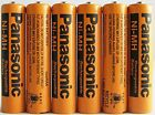 Panasonic HHR-75AAA/B-6 Ni-MH Rechargeable Battery for Cordless Phones 700 mA...