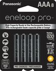 Panasonic BK-4HCCA8BA Eneloop Pro AAA New High Capacity 950mAh Typical Ni-MH ...