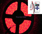 Red 16ft Wireless Waterproof LED Strip Light For Boat/Truck/Car/Suv/Rv 1Sets