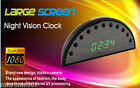 1080p Full Hd Spy Clock Video Camera Recorder Motion Detect Night Vision Remote