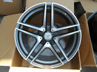 "20"" DRIFT GUNMETAL RIMS WHEELS FITS MERCEDES BENZ C CLASS C230 C280 C320 C350"