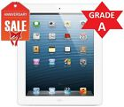 Apple iPad 4th Gen 128GB, Wi-Fi + 4G AT&T (Unlocked), 9.7in - White  GRADE A (R)