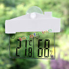 LCD Digital Hygrometer Humidity Thermometer Temperature Meter Indoor Outdoor US