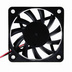 12v - 60mm x 60mm x 10mm Fan - 13CFM