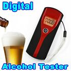 Digital Breath Alcohol Tester Alcohol Meter Analyzer Detector with LCD Display -