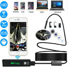 8LED 8mm Endoscope Waterproof Snakes Borescope USB Inspection Camera
