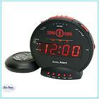 Alarm Clock Loud Adjustable Tone Explosive Sound Bed Shaker