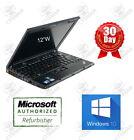 """Lenovo Thinkpad X201 i5 520M 2.4GHz 8GB ram 120GB SSD 12"""" Win10P laptop Warranty"""