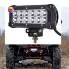 "6"" inch LED Light Bar offroad rzr truck atv polaris honda kart work 4x4 4wd Part"