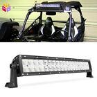 20'' inch Series Dual Row Osram LED Light Bar Work light offroad ship SUV ATV