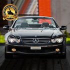 -= Eyebrows for MERCEDES SL R230 2001-2008 eyelids lids brows ABS PLASTIC =-