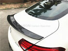 PSM Style Carbon Fiber Rear Trunk Lid Spoiler For C63 AMG W205 Coupe Only
