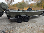 2015 War Eagle 2170 Blackhawk with 115 Evinrude ETEC 39 hours