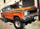 1977 Jeep Wagoneer Custom 1977 Jeep Custom Wagoneer 401 EFI