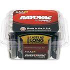 Rayovac Ultra Pro Alkaline AAA Batteries 288/CT SRBK ALAAA24PPJCT