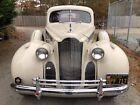1940 Packard Beige Cloth Packard Limo