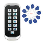 IP68 Metal RFID ID Keypad Single Door Stand-alone Home Access Control+10* Card