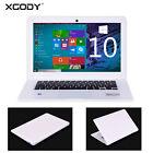 14.1'' Notebook Laptop Windows 10 Intel Quad Core 2GB 32GB WebCam HDMI USB XGODY